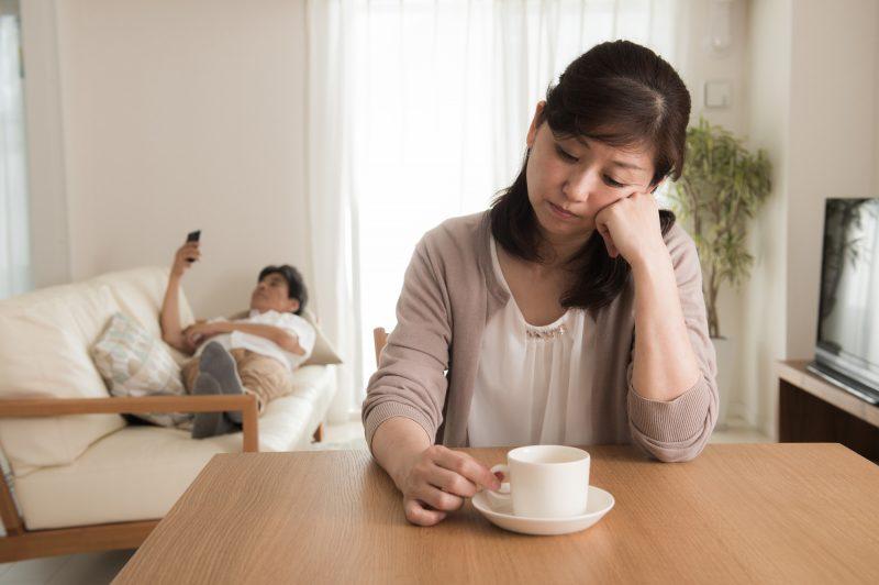 離婚がちらつくものの先立つものがない