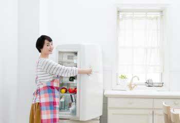 片づけの美学⑪ 冷蔵庫にも片づけルールを適用