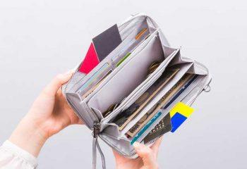 片づけの美学(30) スリムでフットワークの軽い財布を目指しましょう