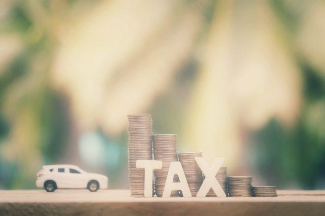 排気量の1.6リットルの普通車。自動車税の還付金はいくら返金されるのか