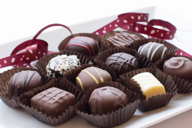 チョコ 手作り バレンタイン