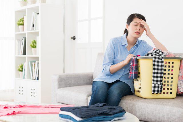 働くママは忙しい!仕事に加え、家事・育児で精神的にもお疲れモード