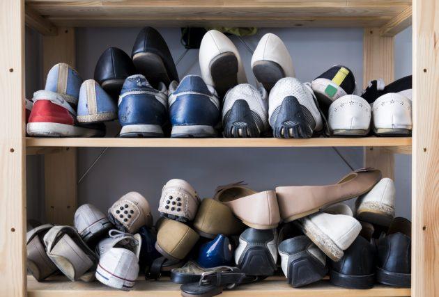 片づけの美学82 靴箱は1年に1回見直し|におい・カビを防いで、使い勝手よく