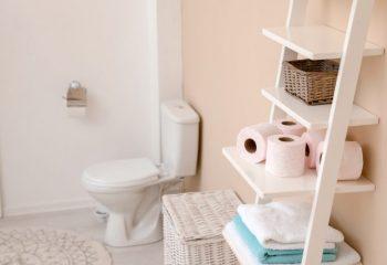 片づけの美学85 トイレ収納がない|隙間や頭上に収納スペースを見つける