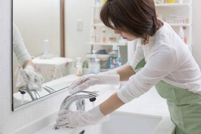 片づけの美学86 洗面所はホコリと汚れがつきやすい きれいをキープする5つのヒント