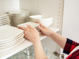片づけの美学102 大量の食器で棚がゴチャゴチャ。必要な食器の量を教えて!
